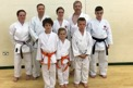 Ella and Oxford City Karate students